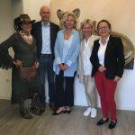 Ausstellung im Hausarzt Zentrum Wiesloch am Freitag  12.07.2019