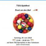 Spielfest der TSG Wiesloch 2019