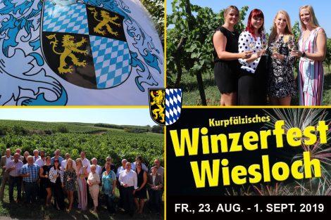 Winzerfest 2019 – coole Fahr-Attraktionen, bunte Buden und fröhliche Kinderkarussells auf dem Rummelplatz