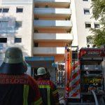 Wiesloch: Feuerwehreinsatz wegen Brand in Hochhaus (mit Fotostrecke)