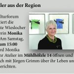 Monika Klein am 10. August beim Kulturforum