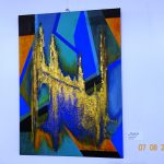 Ausstellung der Künstlergruppe im Rathaus Walldorf