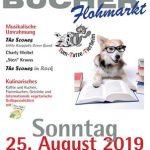 Kulinarischer Bücherflohmarkt im Tom-Tatze-Tierheim am 25. August