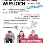 Lehrstellensprechstunde im Jugendzentrum Wiesloch