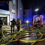 Brand in Dielheim – Feuerwehr im Großeinsatz vor Ort