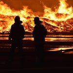 Wiesloch: Großbrand auf AVR-Gelände