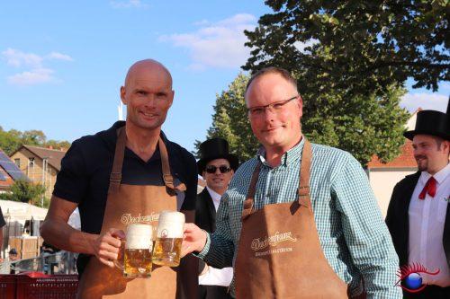 OB Elkemann und Tilman Werner