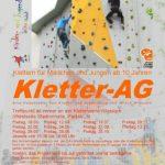 Schnupper-Kletterkurs mit dem IB-Jugendzentrum Wiesloch
