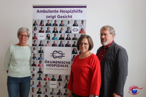 Anne Böhler, Ute Ritzhaupt und Josef Eisend