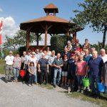 Zehn Jahre Walldorfer Bürgerwingert – Herbsten an einem Sommertag