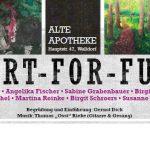 """Walldorf: Kunstausstellung """"Art-for-Fun"""" in der """"Alten Apotheke"""""""