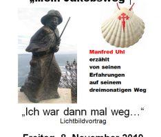 """Walldorf: Manfred Uhl erzählt """"Mein Jakobsweg"""""""