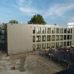 Baufortschritte am Schulzentrum Wiesloch