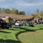 Angelbachtal: Frontalkollision forderte vier Verletzte