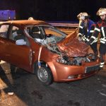 A6 bei Walldorf: Auto kracht unter Lastwagen – Autobahn nach schwerem Crash nahe Wiesloch gesperrt