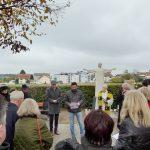 Familie Fritz Fürstenberger stiftet Erlöser-Denkmal
