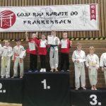 3 x Gold und 2 x Bronze beim GKVBW Cup