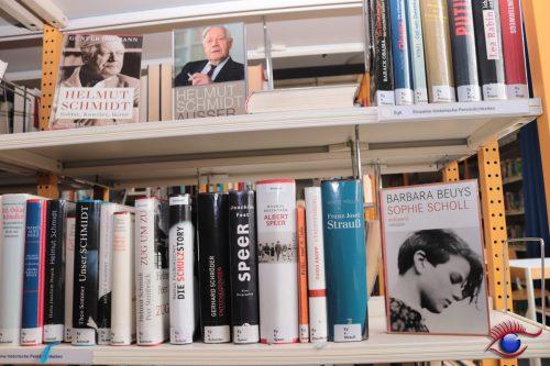 Viele interessante Bücher in der Stadtbibliothek Wiesloch