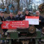 Spenden zum Jahresende an Familienzentrum und Feldbahnverein