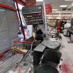 Nußloch/Rhein-Neckar-Kreis: 76-jährige Autofahrerin fährt durch Schaufensterscheibe in Einkaufsmarkt – vier Verletzte