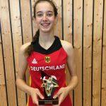TG Sandhausen: Annika Soltau geehrt für ihren Einsatz in der Nationalmannschaft