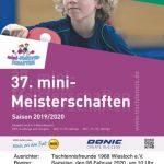 Tischtennis mini-Meisterschaften in Wiesloch