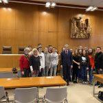 Wieslocher Realschüler im Bundesverfassungsgericht