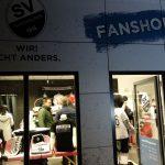 Neueröffnung des Fanshops beim SV Sandhausen