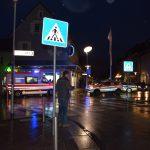 Walldorf: Fußgängerin an der Drehscheibe angefahren