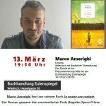 Wiesloch: Lesung und Gespräch mit Marco Amerighi am 13.03.