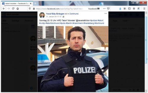 Foto auf der Facebook Seite von  Yusuf Edy Erdugan - © WDR/Thomas Kost