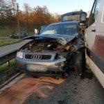 Auf L547 bei Schatthausen: Straße nach Baiertal nach Unfall gesperrt (Fotoupdate)