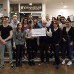 Walldorf: Fairtrade-Steuerungsgruppe übergibt Spende an AGs des Gymnasiums
