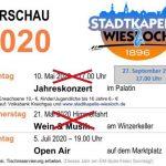 Mitgliederbrief 5/2020 der Stadtkapelle Wiesloch