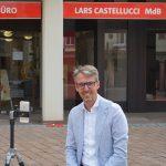 """""""Pizza & Politik"""" mit Lars Castellucci"""