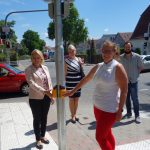 Walldorf: Inbetriebnahme einer neuen Ampelanlage