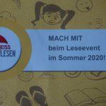 MACH MIT beim Leseevent der Stadtbücherei Walldorf in den Sommerferien