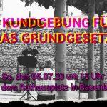 8. Kundgebung für das Grundgesetz in Rauenberg