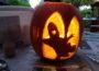 Halloween-Kürbis schnitzen im Jugendzentrum Wiesloch im Oktober