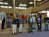 Finissage der Ausstellung der Künstlergruppe im Rathaus