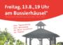 Lars Castellucci lädt zum Dämmerschoppen ans Bussierhäusel in die Wieslocher Weinberge