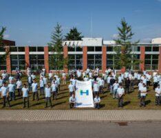 Ausbildungsstart 2021 bei Heidelberg