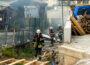 Wiesloch: Aktuell Brand im Rohbau eines Mehrfamilienhauses