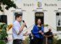 Katrin Göring-Eckardt zu Gast bei Bundestagskandidat Jürgen Kretz in Wiesloch