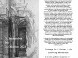 Galerie Alte Apotheke: Ausstellung des Grafikers Peter Ackermann