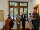 Finissage der Ausstellung Peter Ackermann in der Galerie Alte Apotheke