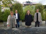 Wolfgang Folmer zieht als Gastkünstler in die Künstlerwohnung Walldorf ein