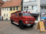 Feuerwehr-Oldtimer im Einsatz